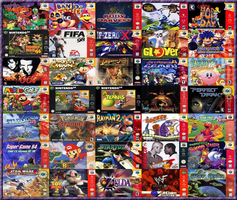 Comunidad Vision Hackers Emulador Y Juegos De Nintendo 64